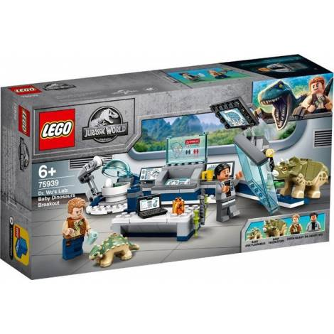 LEGO®Jurassic World™: cDr. Wu's Lab: Baby Dinosaurs Breakout (75939)
