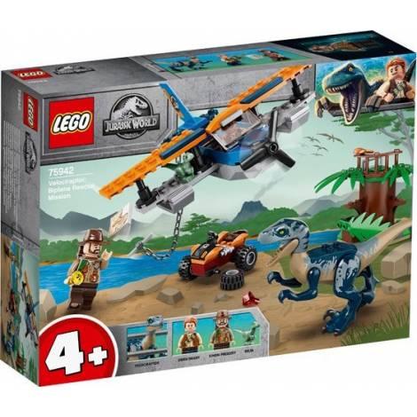 LEGO®Jurassic World™: Velociraptor: Biplane Rescue Mission (75942)