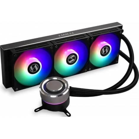 Lian Li Galahad 360 Black Liquid CPU Cooler - 360mm RGB water Cooler
