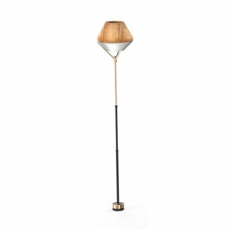 Allocacoc  LightShade Tulip Standing + Lightcube E27 - SET - EU HV: 200-240V~ / 3m Cable (10420DW/EULSTS)