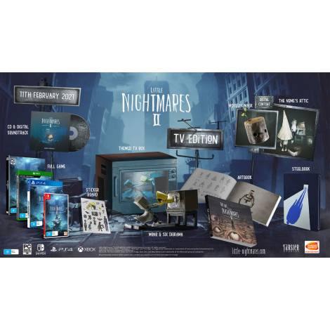 Little Nightmares II - TV Edition (NINTENDO SWITCH)