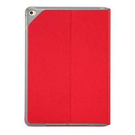 Logitech Hinge - 9.7 inch tablet case (case for Apple, iPad Air 2-24.6 cm (9.7 inches)   red (939-001092)