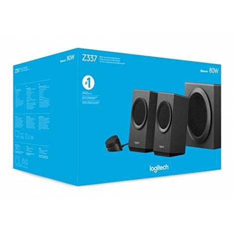 LOGITECH Z337 Bold Sound with Bluetooth Black - (980-001262)