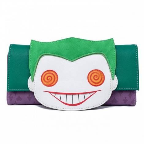 (Loungefly DC Comics Joker Eye Wallet (DCCWA0026)