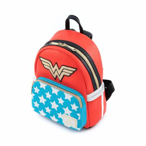 Loungefly Dc Comics: Vintage Wonder Woman Cosplay Mini Backpack (DCCBK0043)