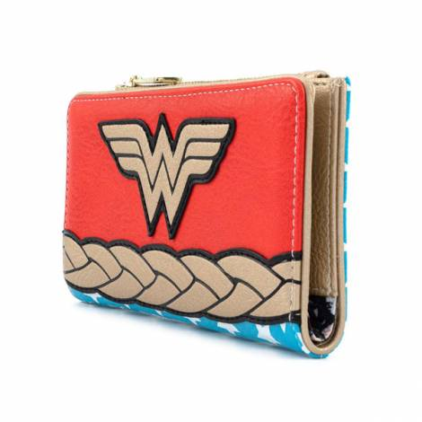 Loungefly Dc: Comics Vintage Wonder Woman Cosplay Wallet (DCCWA0029)