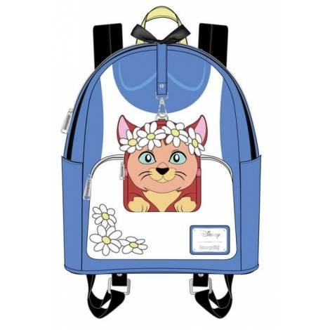 Loungefly Disney Alice In Wonderland Cosplay Mini Backpack With Detachable Mini Wristlet (WDBKS0009)