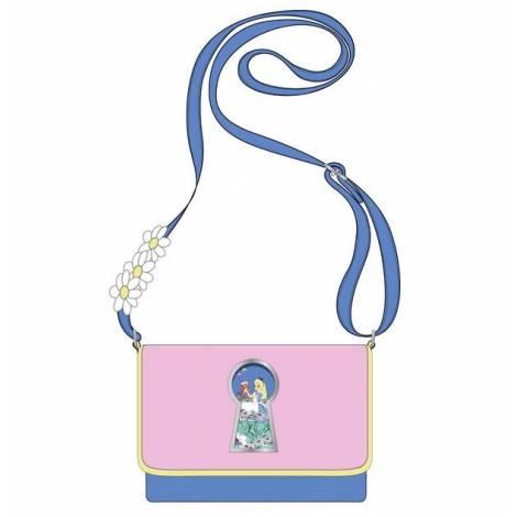 Loungefly Disney Alice In Wonderland Key Hole Cross Body Bag (WDTB2235)