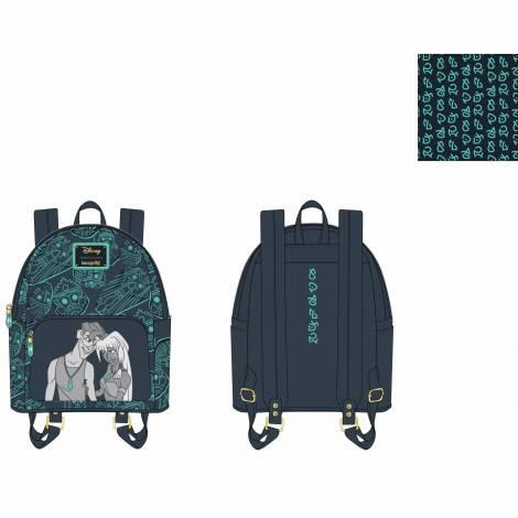 Loungefly Disney Atlantis 20Th Anniversary Kida Milo Mini Backpack (WDBK1658)