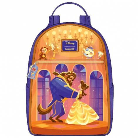 Loungefly Disney Beauty And The Beast Ballroom Scene Mini Backpack (WDBK1535)