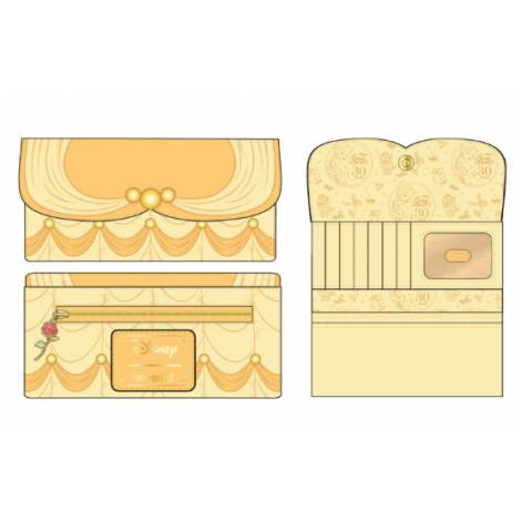 Loungefly Disney Beauty And The Beast Belle Cosplay Wallet (WDWA1603)