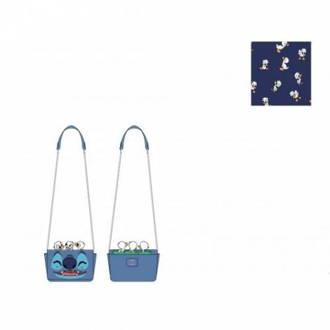 Loungefly Disney Lilo And Stitch Duckies Cross Body Bag (WDTB2237)