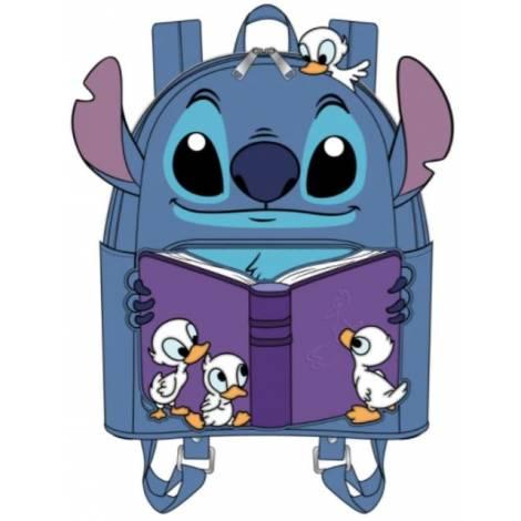 Loungefly Disney Lilo And Stitch Story Time Duckies Mini Backpack (WDBK1656)