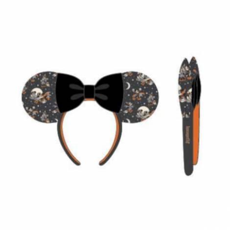 Loungefly Disney Mickey Minnie Halloween Vamp Witch AOP Headband (WDHB0077)