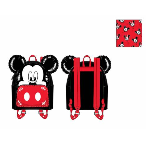 Loungefly Disney Mickey Mouse Balloon Cosplay Mini Backpack (WDBK1528)