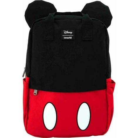 Loungefly Disney: Mickey Mouse Cosplay Square Nylon Backpack (WDBK0978)