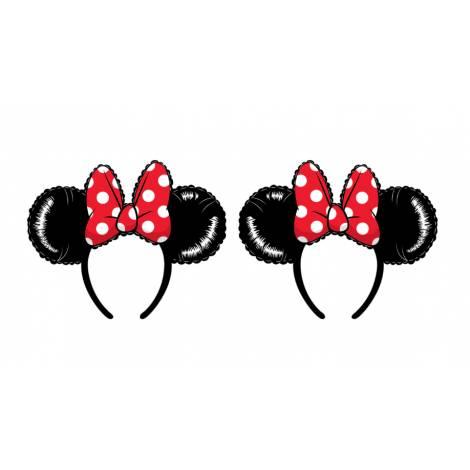 Loungefly Disney Minnie Mouse Balloon Ears With Bow Headband (WDHB0085)