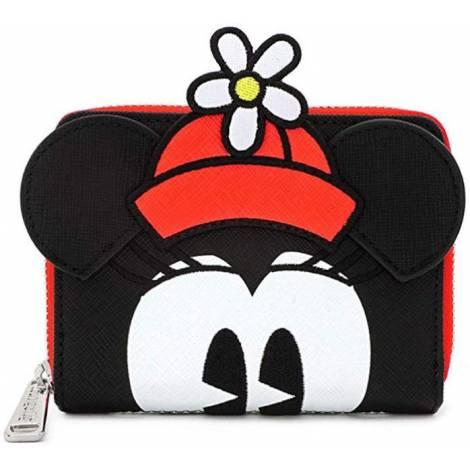 Loungefly Disney: Minnie Mouse Positively Minnie Polka Dot Zip Around Bi - Fold Wallet (WDWA1162)
