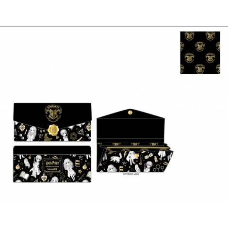 Loungefly Harry Potter Magical Elements AOP Wallet (HPWA0114)