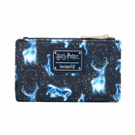 Loungefly Harry Potter Patronus AOP Flap Wallet (HPWA0102)