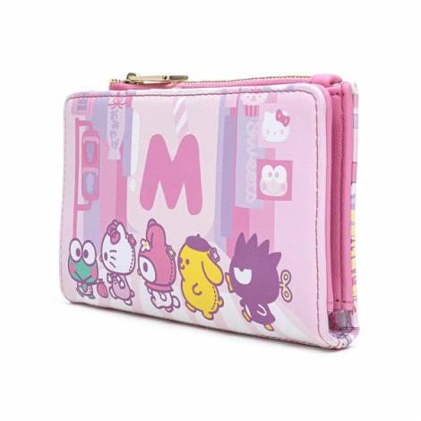 Loungefly Hello Kitty Kawaii AOP Flap Wallet (SANWA0889)