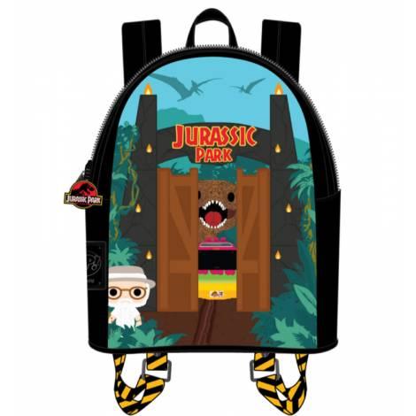 Loungefly Jurassic Park Gates Mini Backpack (JPBK0001)