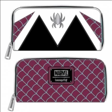 Loungefly Marvel Spider Gwen Cosplay Zip Around Wallet (MVWA0151)