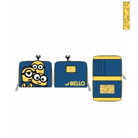 Loungefly Minion Triple Minion Bello Zip Around Wallet (DMWA0003)