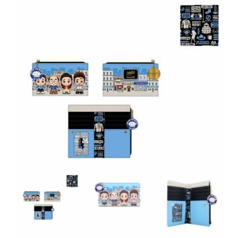 Loungefly Seinfeld Chibi City Flap Wallet (SNFWA0003)