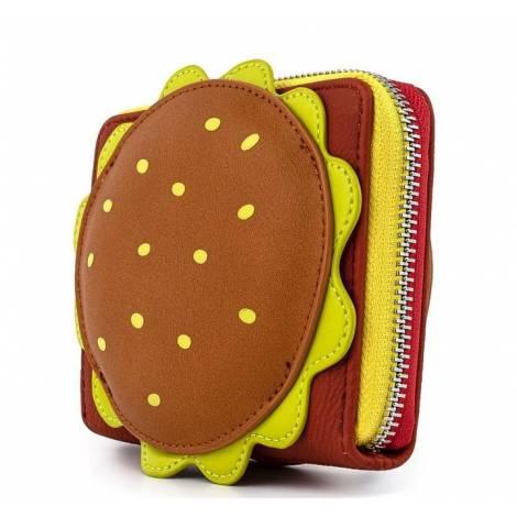 Loungefly Spongebob Krusty Crab Gang Zip Around Wallet (NICWA0014)