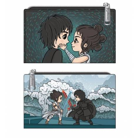 Loungefly Star Wars Kylo Rey Mixed Emotions Flap Wallet (STWA0156)