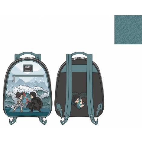 Loungefly Star Wars Kylo Rey Mixed Emotions Mini Backpack (STBK0235)