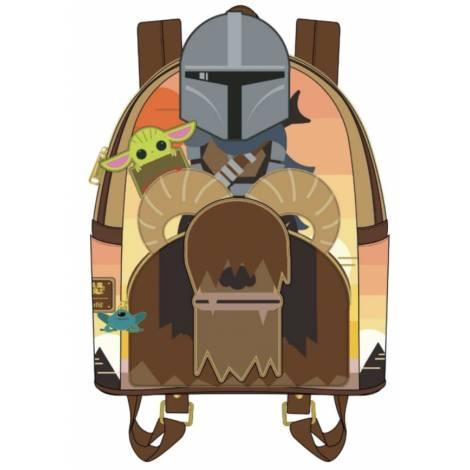 Loungefly Star Wars Mandalorian Bantha Ride Mini Backpack (STBK0224)