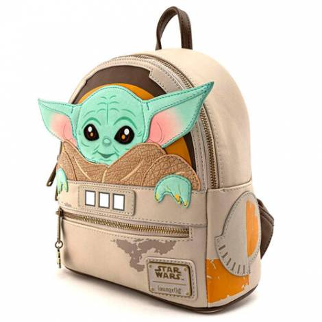 Loungefly Star Wars: Mandalorian Child Craddle Mini Backpack (STBK0177)