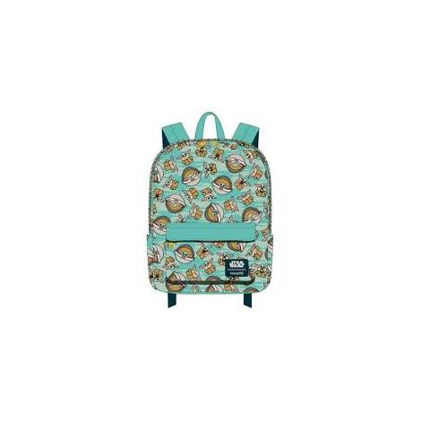 Loungefly Star Wars: The Child AOP Nylon Backpack (STBK0183)