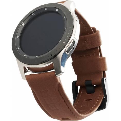 Λουράκι UAG Leather Strap for Samsung Galaxy Watch (42mm)/Active 2, Brown (29181B114080)