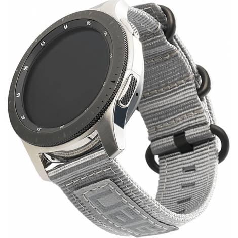 Λουράκι UAG Nato Strap for Samsung Galaxy Watch (42mm)/Active 2, Grey (29181C114030)
