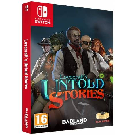 Lovecraft's Untold Stories: Collector's Edition (Nintendo Switch)