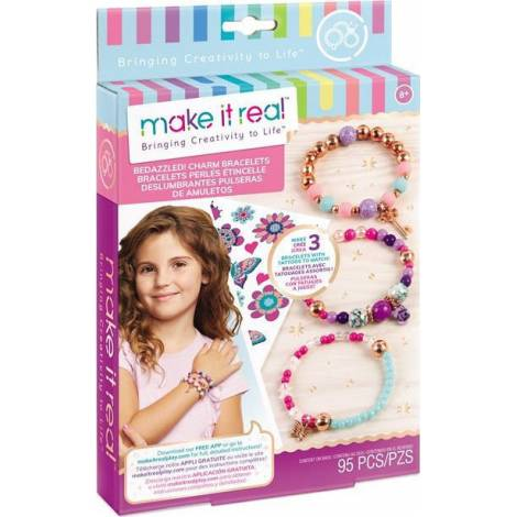 Make it Real - Bedazzled! Charm Bracelets - Blooming Creativity (1202)