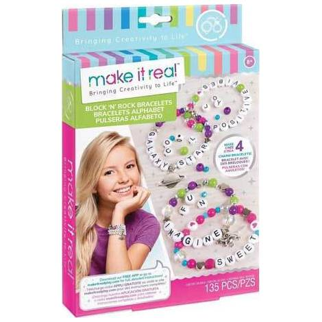 Make it Real - Block 'N' Rock Charm Bracelets (1205)