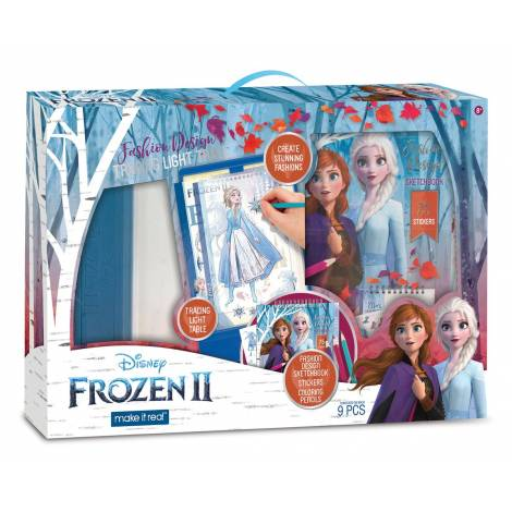 Make it Real Disney Frozen II - Fashion Design Tracing Light Table (4254)