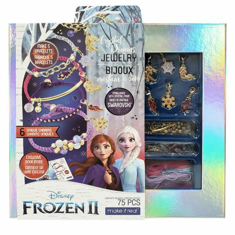Make it Real Disney: Frozen II - Swarovski Crystal Dreams Jewelry Bracelet Set (4380)
