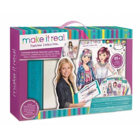 Make it Real - Fashion Design Tracing Light Table Mega Set (3502)