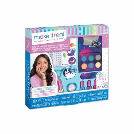 Make it Real: Girl On The Go - Deluxe Cosmetic Set (2463)