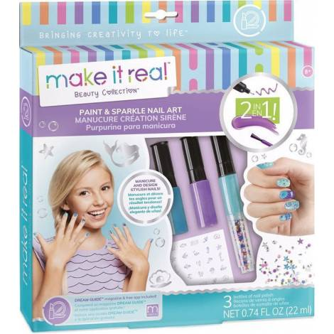 Make it Real - Paint & Sparkle Mermaid Nail Art (2324)