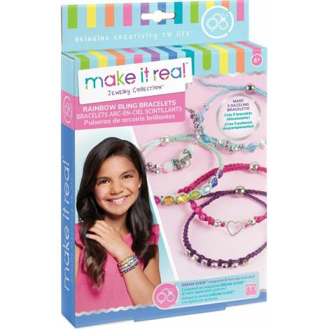 Make it Real - Rainbow Bling Bracelets (1206)
