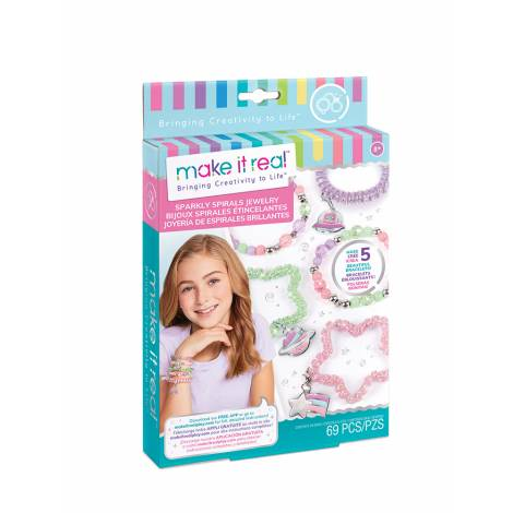 Make it Real: Sparkly Spirals Jewelry (1210)
