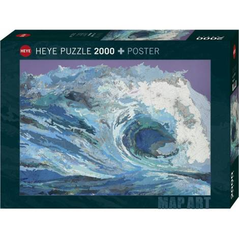 Map Wave 2000pcs (29872) Heye