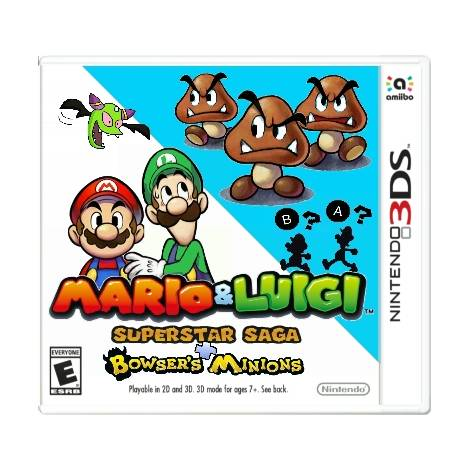Mario & Luigi : Superstar Saga + Bowser's minions (NINTENDO 3DS)