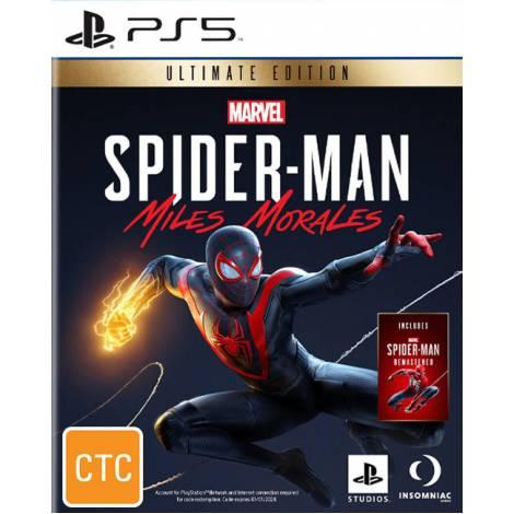 Marvel Spider-Man Miles Morales - Ultimate Edition + Pre Order Bonus  (PS5)